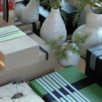 diy project: reusable wrapped boxes