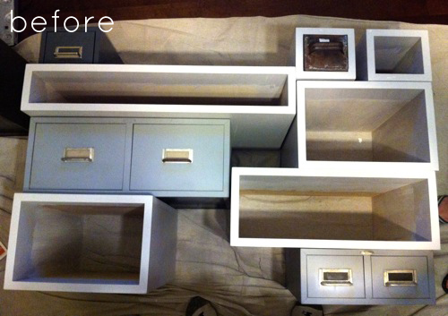 Before Amp After Multi Drawer Media Console Design Sponge