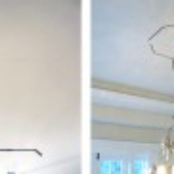 diy project: bronze nail ceiling design