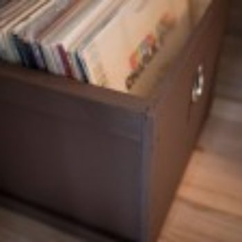 diy project: record crates