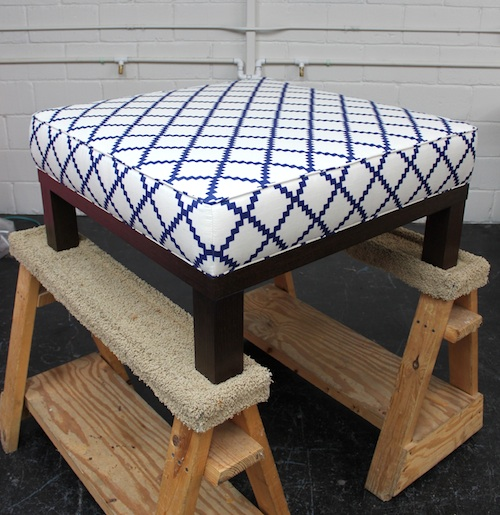 Ottoman Instead Of Coffee Table