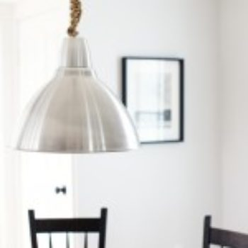 diy project: knotted lamp cord by raina kattelson