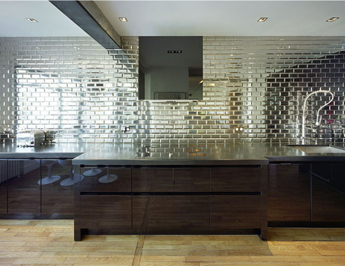 Current Obsessions Mirrored Subway Tile Design Sponge