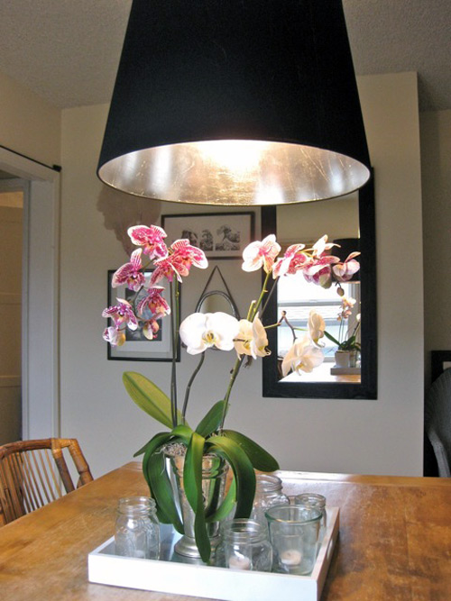 Diy Project Silver Leafed Lampshade Design Sponge