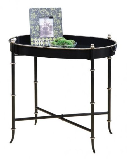 Image Above: Oval Butler Tray Table, $139