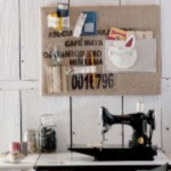 diy project: recycled inspiration board from maya donenfeld
