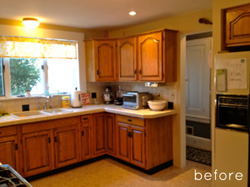 kitchen makeovers before and after before amp after kitchen makeover design sponge 8351