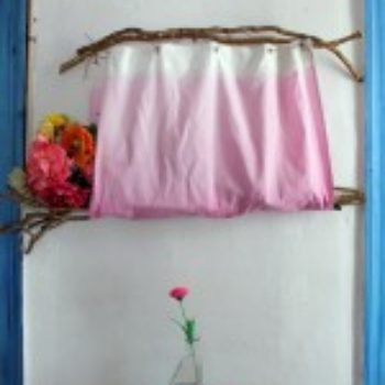 diy project: ombre flower collector + hanger