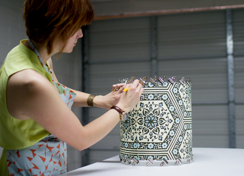 Upholstery Basics How To Make A Lampshade Design Sponge