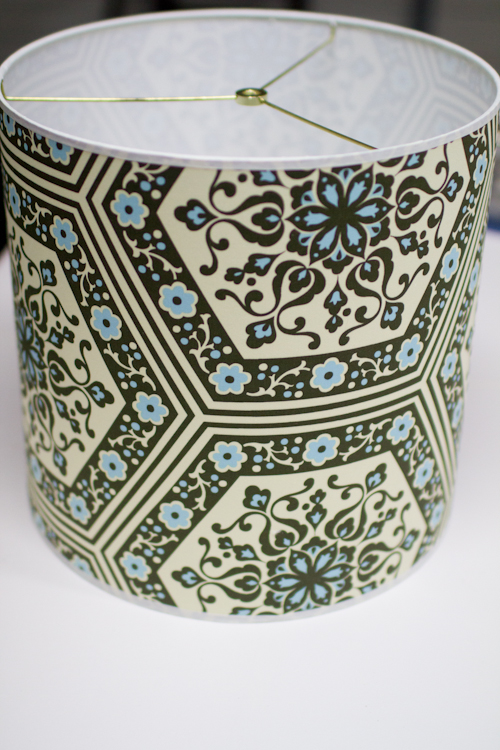 Upholstery Basics How To Make A Lampshade Designsponge