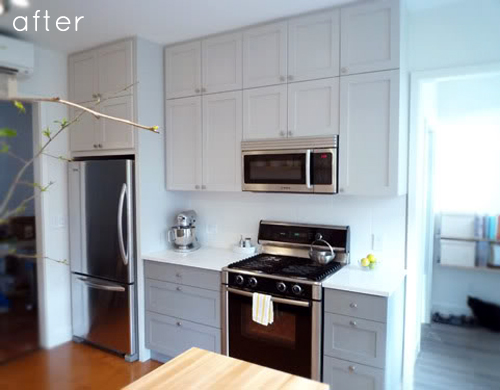 Before Amp After Clean Simple Kitchen Redo Design Sponge
