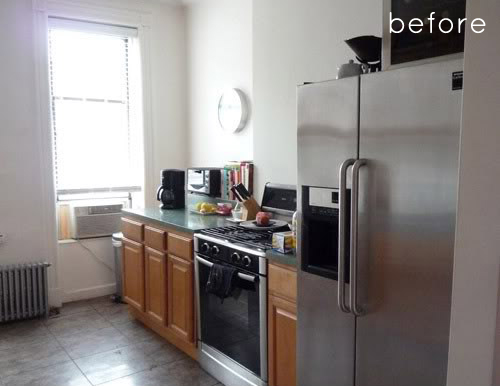 before & after: clean + simple kitchen redo – Design*Sponge