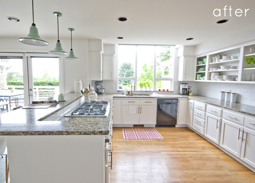 before after kitchen makeover 2 2147