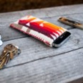 DIY Project: Stitched Wool Phone Case