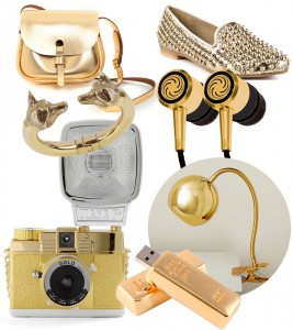 golden glamour fashion and tech