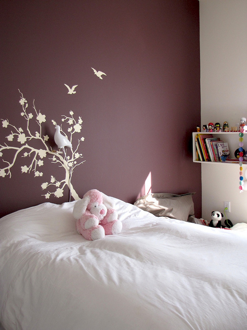 astonishing plum bedroom walls | Sneak Peek: Si of French by Design – Design*Sponge