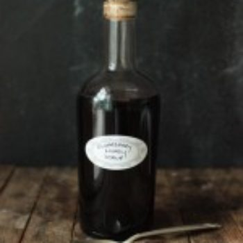 Small Measures: Elderberry & Honey Syrup