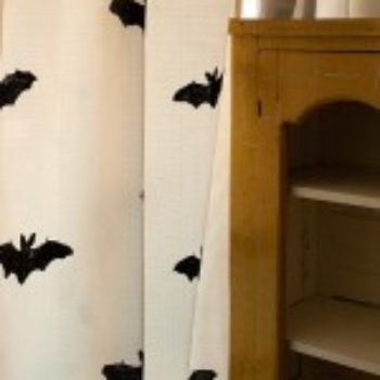 Entertaining: DIY Bat Curtain