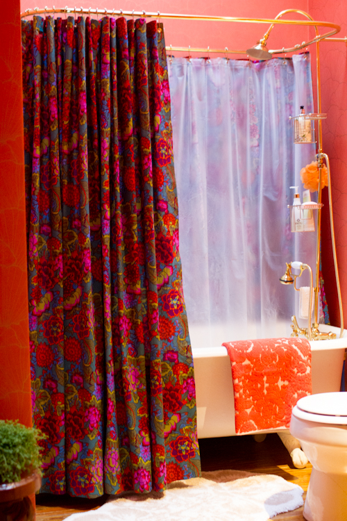 Upholstery Basics Grommet Top Shower Curtain DesignSponge