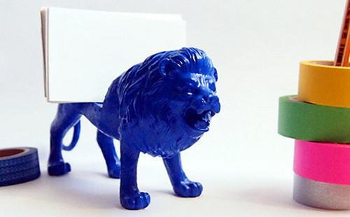 2gets me every time studio etsy blue lion business card holder 2gets me every time studio etsy blue lion business card holder reheart Gallery