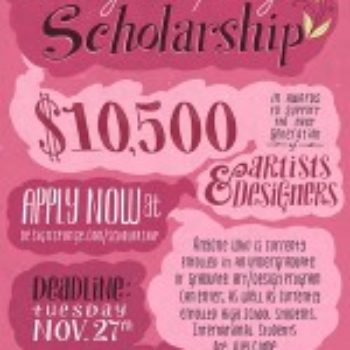 The 2012 D*S Scholarship: Applications!