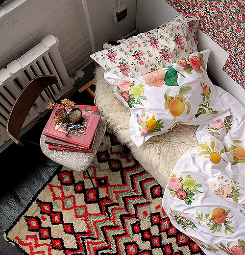 Floral Duvet Cover DIY