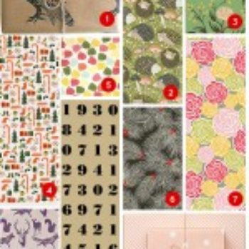 2012 D*S Gift Guide: Cards & Gift Wrap