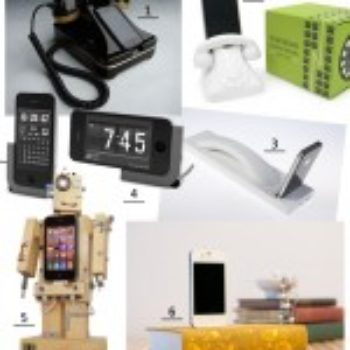 Fun and Innovative Phone Docks