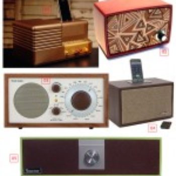Retro Speakers and Radios for the Home