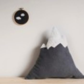 DIY Gift Series: Mountain Pillow