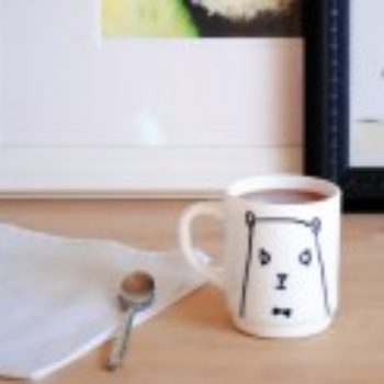 DIY Gift Series: Bear Mug