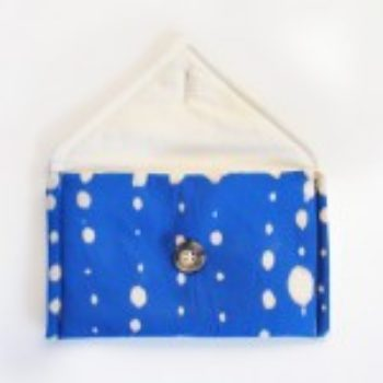 DIY Gift Series: Bleach-Dot Clutch