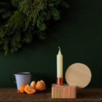 DIY Project: Simple Copper Candleholder