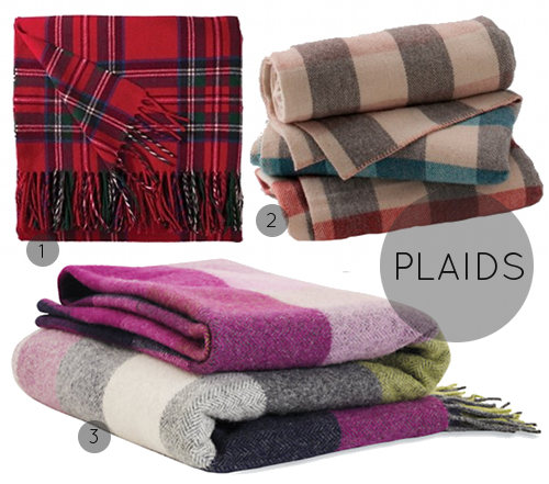 Current Obsessions Cozy Blankets Throws DesignSponge Stunning Cheap Plaid Throw Blanket