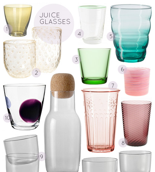 40 Great Juice Glasses Design Sponge