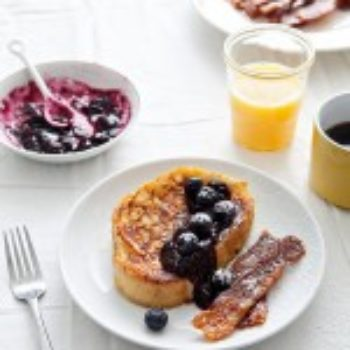 In the Kitchen With: Stacy Newgent's French Toast and Bacon