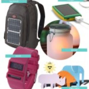 Everyday Solar-Powered Gadgets