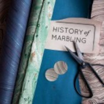 Past & Present: Marbled Paper and Roundup