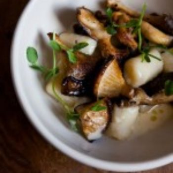 In the Kitchen With: Camille Becerra and Nicole Franzen's Gnocchi with Wild Mushrooms