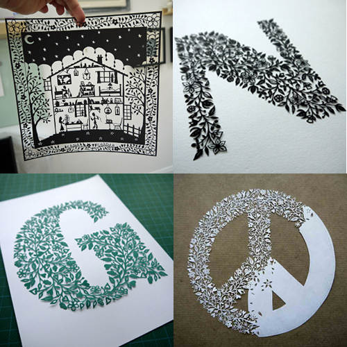 25 amazing papercut artists  u2013 design sponge