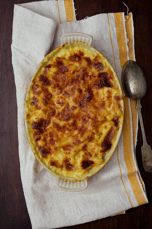 A low-key, low-stress Thanksgiving - Macaroni and cheese