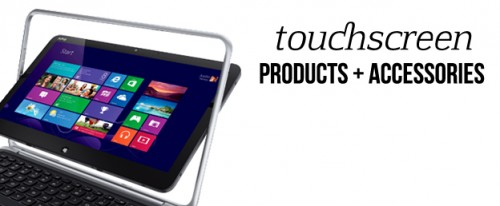 Touchscreen products and accessories