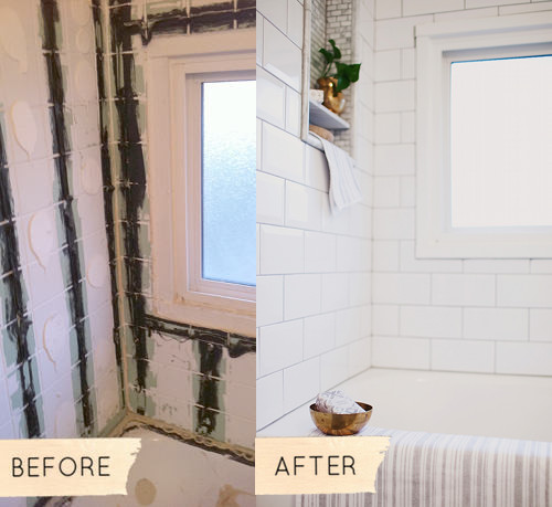Images Bathrooms Makeovers: Before & After: Christina's 1950s Bathroom Makeover