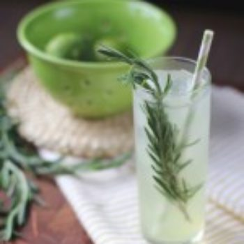 Behind the Bar: Elizabeth Morrow's Rosemary Gin Rickey