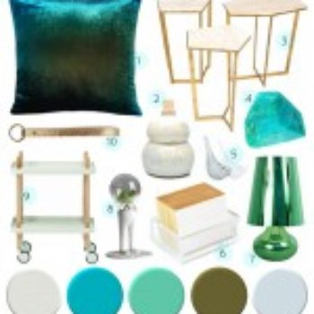 Color Palettes: Greens & Blues