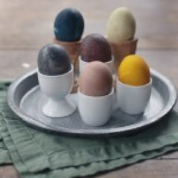 Small Measures: Naturally Dyed Eggs