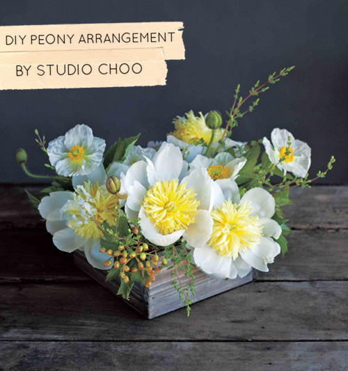 The flower recipe book floral how to from studio choo