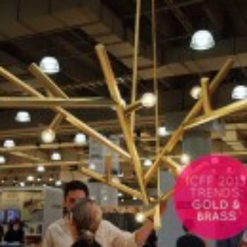 ICFF 2013 Trends: Brass & Gold