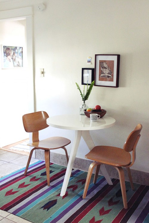 A Seaside California Home Layered With Inspiration DesignSponge - West elm cafe table
