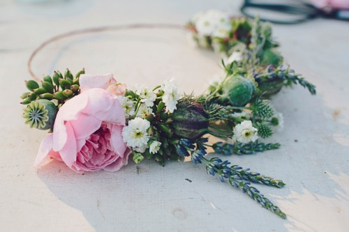 Diy Floral Crown Design Sponge
